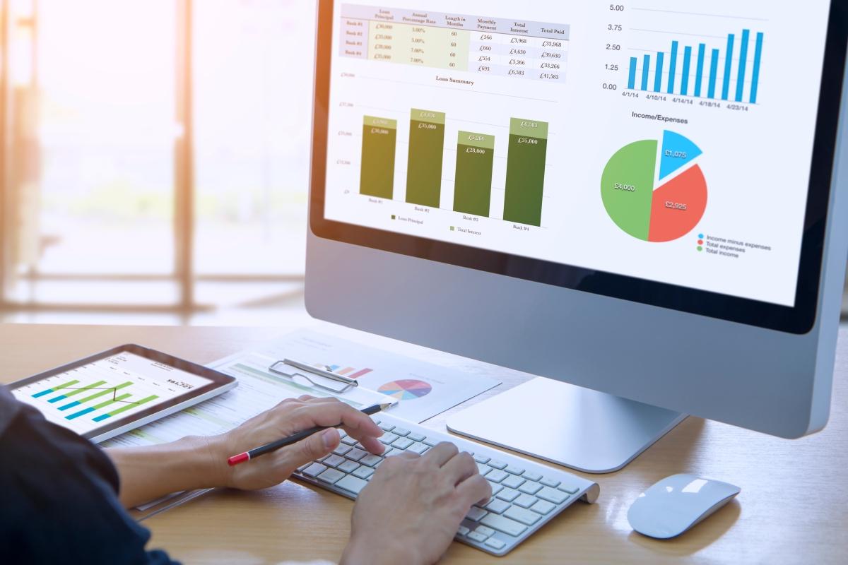 analyse de graphique comptable